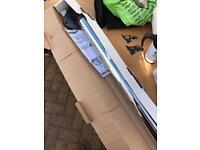 Kitchen worktop chrome legs