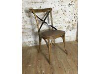Oak Chair - Industrial