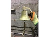 Antique ships bell