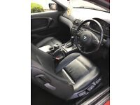 Bmw compact automatic full leather .
