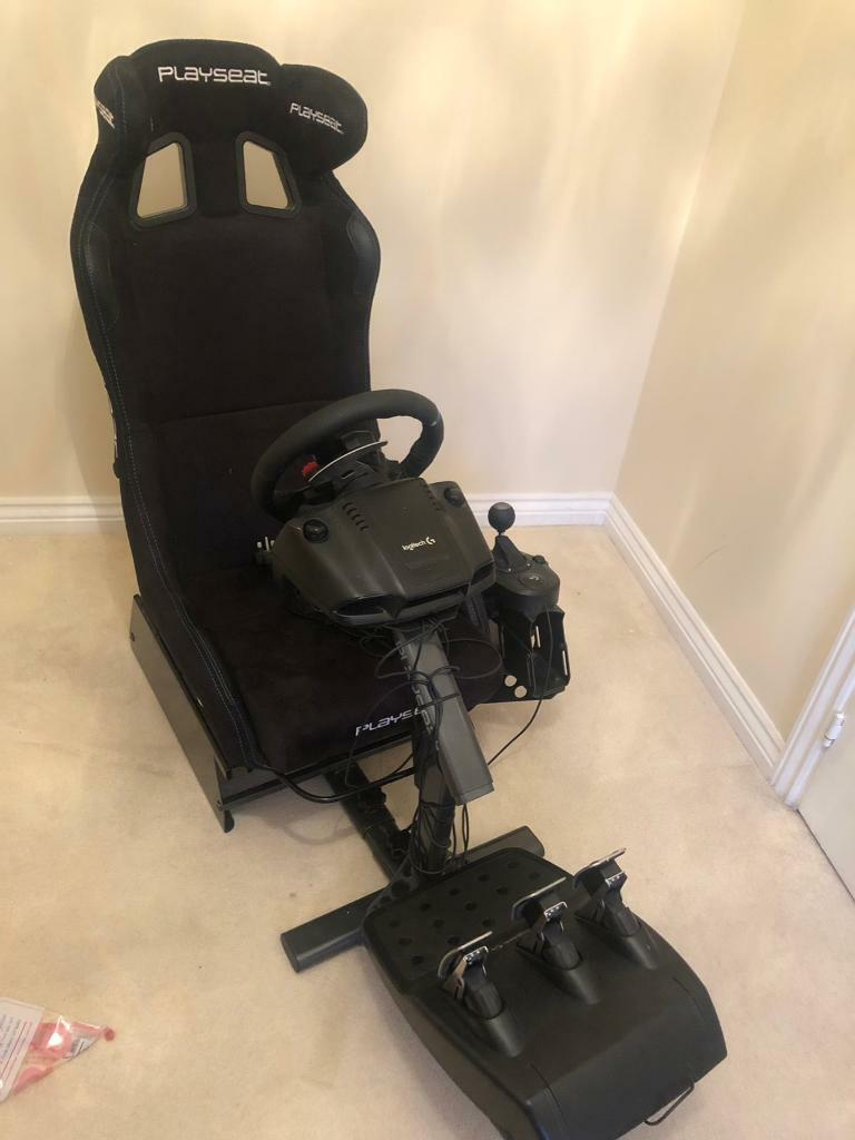 Play Seat + Logitech Racing Gear PS4 / PS3 Fully Assembled | in Cannock,  Staffordshire | Gumtree