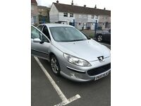Selling peugeot 407 2.0 hdi luxury pack