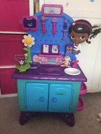 Doc McStuffins station with loads of bits to go with it!