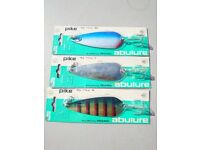 Brand new Abu Garcia pike spoons ( vintage collectable)