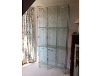 Vintage industrial wire mesh lockers ( 9 locker spaces). Good for display, storage.
