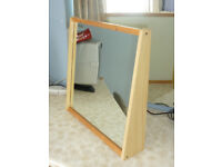 WOODEN TABLE/DRESSING TABLE MIRROR