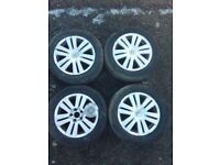 VW Passat EOS Genuine 16'' alloy wheels with tyres 215/55/16