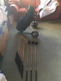 Full beginners golf set