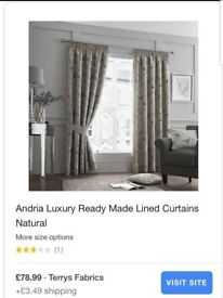 Brand new in packaging Curtains