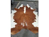 COW HIDE RUG 2 metres by 2 metres Large modern rug