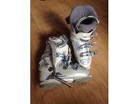 Nordica Easy Move Ski Boots WHITE - Size 25 25.5/295mm (about EU40)