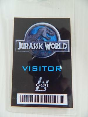 VIE PROP - ID/Security Badges (Jurassic World - Visitor) (Movie World Halloween)