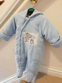 George snowsuit age 3-6mths