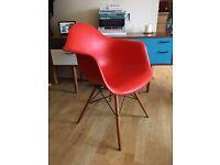 2 x *Genuine* Eames DAW Armchair by Vitra