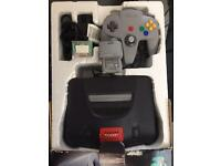 N 64 + gadgets and games