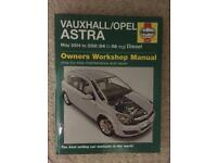 Vauxhall Astra Haynes Manual 2004 - 2008