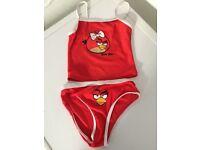 Girls Angry Birds Tankini Age 5-6