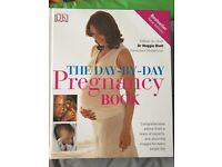 Day by Day Pregnancy Book by Dr Maggie Blott, Unused, As New