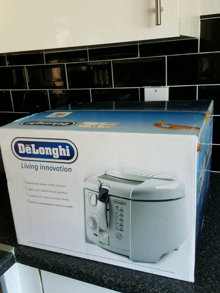 delonghi fryer large unopened boxin Sheffield, South YorkshireGumtree - delonghi fryer large unopened box ring or text 07747820501 see other adds thanks