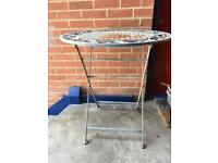 Patio garden table folding metal