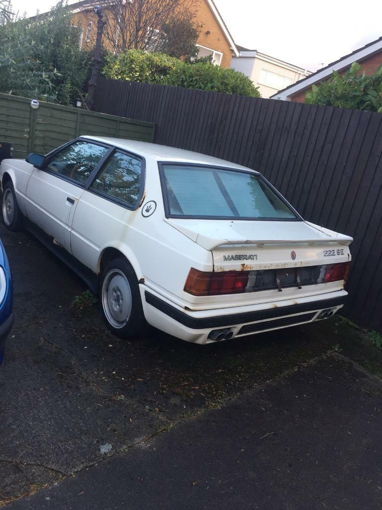 maserati 222 se biturbo 1991 | in blackpool, lancashire | gumtree