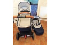 MOTHERCARE JOURNEY 2 IN 1 PRAM AND PUSHCHAIR