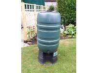 Large garden water butt