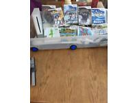 Wii console and games and accessories