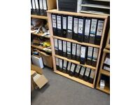 Office Furniture - To be collected before Christmas - Bookcases in various sizes