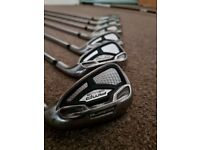 Golf Irons Set - Cobra AMP CELL S Steel Irons 4-pw