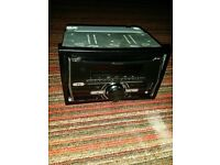 PIONEER DOUBLE DIN STEREO BLUETOOTH USB AUX WITH CABLES