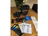 Sony Cybershot digital camera bundle DSC-HX300
