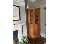 Pine Dresser / Corner cabinet