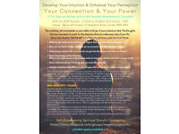 Develop Your Intuition & Enhance Your Perception Workshop - Self Empowering Spiritual Growth Group