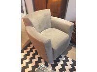 Mid century retro bucket chair, great shape