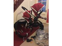 iCandy Peach 1 Double Pram Pushchair CAN POST