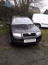 Skoda fabia 1.9 sdi diesel economical to run cheap insurance and tax very reliable