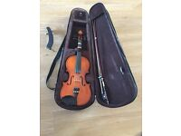 Violin 3/4 size in excellent condition