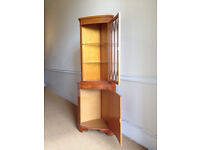 Antique Style Corner Cabinet