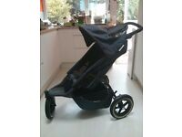 Phil & Teds Sport buggy/stroller - navy blue/charcoal