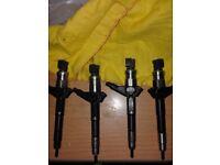 4 Diesel fuel injectors