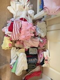 Baby girl clothes 3-6mths