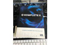 NATIVE INSTRUMENTS KOMPLETE 8 - PC & MAC - (no box)