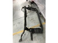 NISSAN QASHQAI 2012 FRONT PANEL AND RAD PACK AND NEW REINFORCER RH XENON HEADLIGHT+FOR LIGHTS CPL