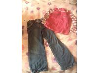 4-5 Years Girls (Tesco) Top and Jeans