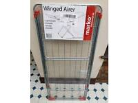 Marko Homewares 18M Winged Clothes Airer Laundry Clothing Dryer