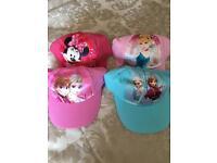 Girls hats £3