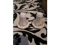 ETERNAL BEAU SALT AND PEPPER POTS IN GREAT CONDITION