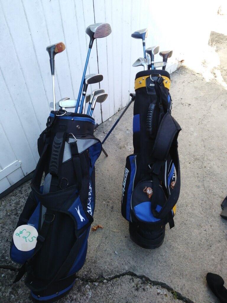 63116f98eef Junior Golf Clubs 2 Sets Available - Slazenger Panther - LongRidge Tiger  Plus