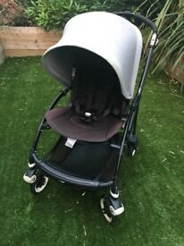 Bugaboo Bee 3 in Melange Grey - Buggy and carrycot - from birth to 4 years (or older!)
